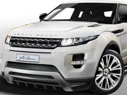 Range Rover Evoque par Arden : un AR8 City-Roader virtuellement méchant