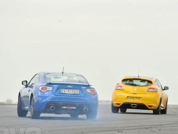 [vidéo] Subaru BRZ vs Renault Megane RS Trophy : la douche froide