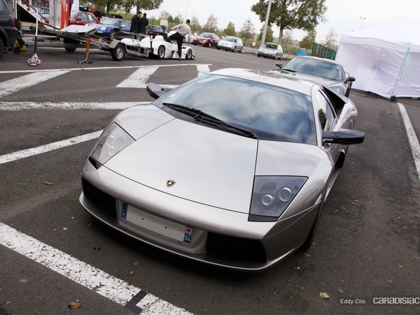 Photos du jour :  Lamborghini Murcielago (Tinseau Test Day)