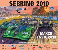 L'affiche des 12 Heures de Sebring: Analysons-la ensemble...