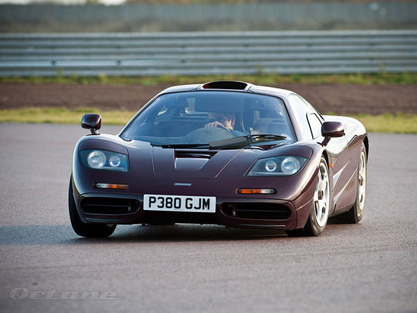 Mr Bean vend sa McLaren F1