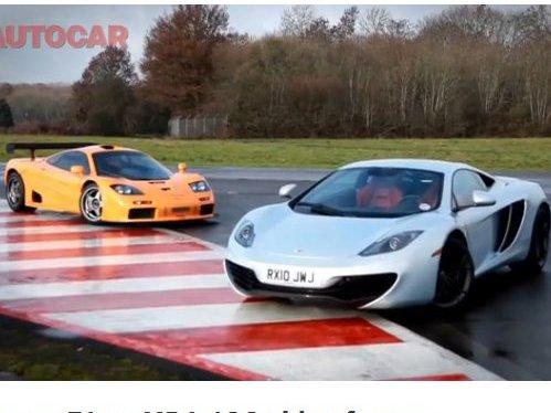 McLaren : la F1 face à la MP4 12C, les différences