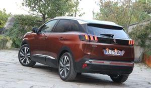 Peugeot fait les comptes sur les ventes du 3008