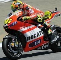 "Moto GP - Valentino Rossi: ""Si mon manager Melandri le veut bien je serai avec Ducati en 2012"""