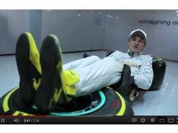 [vidéo] L'étonnante position des pilotes de F1 expliquée par Nico Rosberg