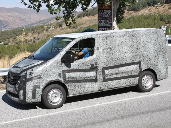 Le futur Renault Trafic surpris