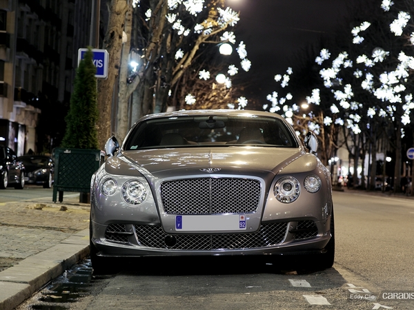 Photos du jour : Bentley Continental GT 2 W12