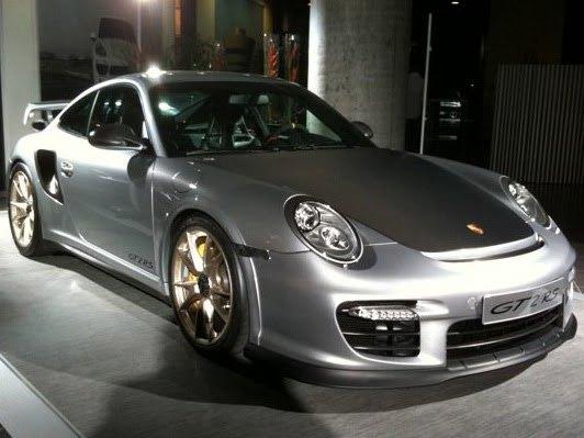 Nouvelle Porsche 911 GT2 RS de plus près
