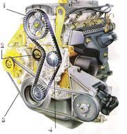 Réponse à la question du jour n° 129 : selon quelle fréquence doit-on remplacer la courroie de distribution sur une voiture ?
