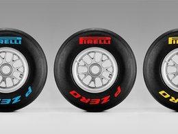 F1 : apprenez à reconnaitre les pneus Pirelli grâce à leur code couleur