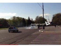 [vidéo] La vie en Russie : une Audi R8 envoie une Lada en tonneau et s'échappe