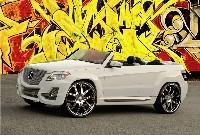 SEMA Show: Mercedes GLK en folie!