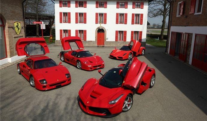 Ferrari aussi va passer à l'électrique avec un SUV et une supercar