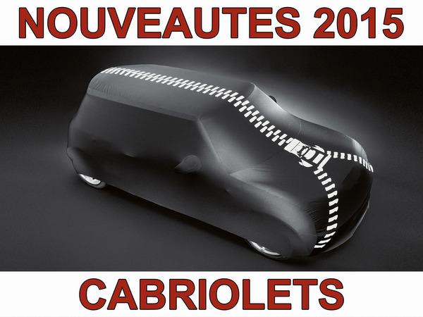 """Nouveautés 2015 – Cabriolets : le retour de le """"Miata"""" !"""