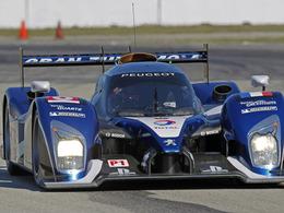 Peugeot en pole aux 12 Heures de Sebring