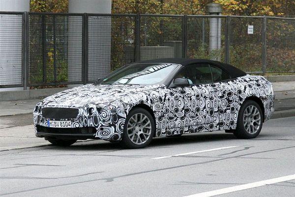 Futur BMW Série 6 Cabriolet : premier prototype