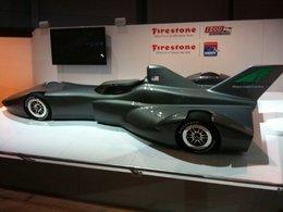 """IndyCar 2012: DeltaWing dévoile à son tour sa """"fusée"""""""