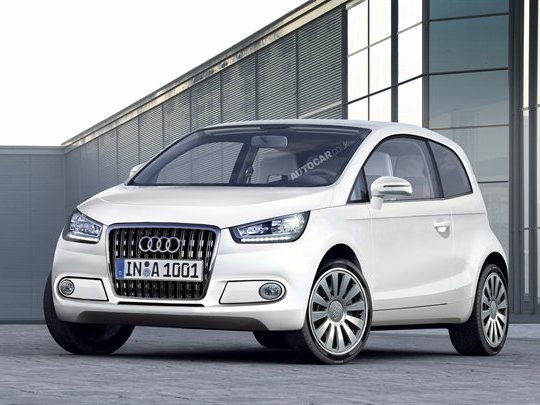 Future Audi A2 (Acte 2, scène -6): le chaînon manquant