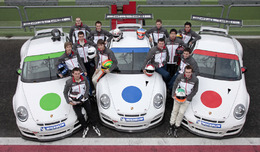 Les élus du Porsche Motorsport Talent 2010
