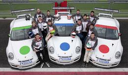 Les élus du Porsche Motorsport Talent 2010