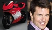 Ducati offre sa première Desmosedici RR à Tom Cruise