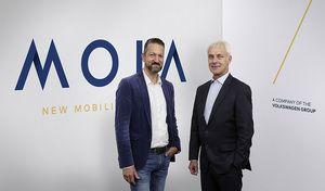 Volkswagen et Moia