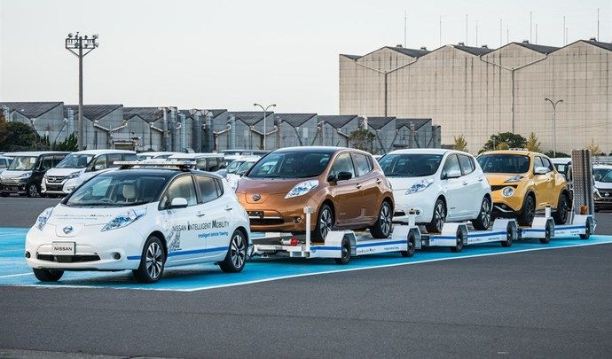 Nissan teste le remorquage autonome