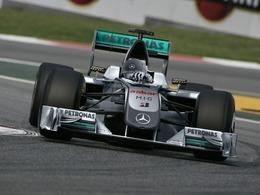 F1 - GP Monaco : retour à l'ancien châssis pour Mercedes