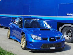 Rallye France - Brunson victorieux sur Subaru au Touquet