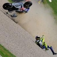 Moto GP - Italie D.2: C'est fini pour Rossi, retour programmé pour la République Tchèque