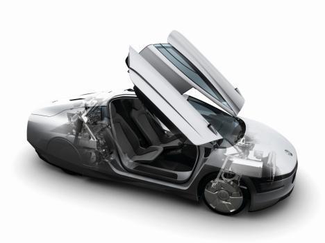 Le ticket gagnant: Volkswagen XL1 - Bugatti Veyron