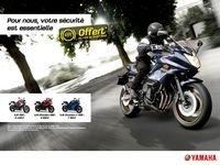 ABS offert sur la gamme Yamaha XJ6 jusqu'au 31 juillet