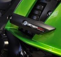 Top Block: pad et support de plaque pour Kawasaki Z1000 SX.
