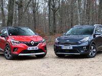Comparatif - Renault Captur E-Tech Plug In vs Kia Niro Plug In : outsider contre référence