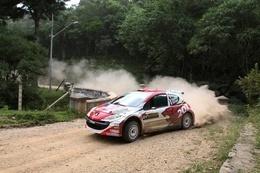 IRC: Le Brésilien Tulio au départ à Curitiba sur une 207 S2000