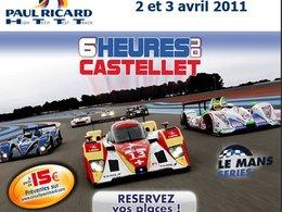 Agenda - 2/3 avril : les 6h du Castellet en préambule des 24h du Mans