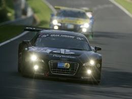 24 Heures du Nürburgring - 7 Audi R8 LMS au départ