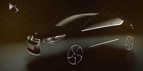 Genève 2010 : la Citroën DS4 poursuit son lent effeuillage