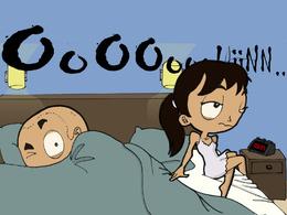 BD Caradisiac - épisode 13: Papa Latino et son bambino qui ne fait pas... dodo.