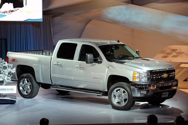 Chicago 2010 : nouveau Chevrolet Silverado HD, toujours plus costaud