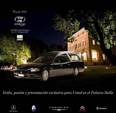 Funérailles classes en Maserati Quattroporte