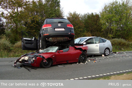 Problèmes de freins et d'accélérateur chez Toyota : un peu d'humour ( noir )