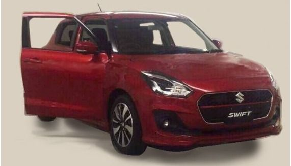Surprise : la nouvelle Suzuki Swift se dévoile !