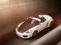 Porsche Boxster Spyder by 911 Design : Large, très large...