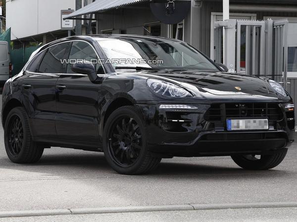 Surprise : première sortie pour le futur Porsche Macan
