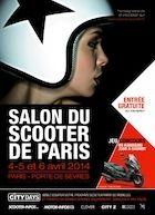 Salon du Scooter de Paris 2014 : RDV du 4 au 6 avril à la Porte de Sèvres