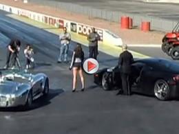 [Vidéo] Drag race entre une Ferrari 458 Italia et une Shelby Cobra 427, le vainqueur surprend