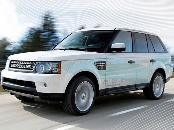 gros plan sur le nouveau range rover range e hybride. Black Bedroom Furniture Sets. Home Design Ideas