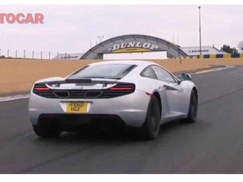 [vidéo] 2400 km en McLaren MP4 12C