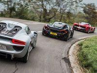 Vidéo : LaFerrari Vs Porsche 918 Vs McLaren P1 par Top Gear Magazine